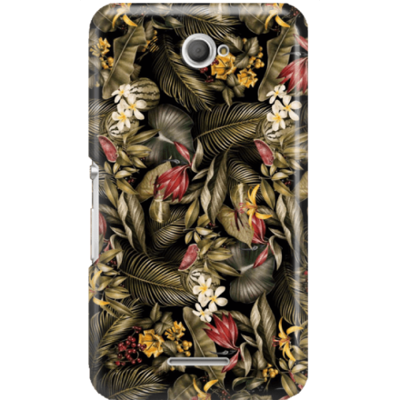 Etui na telefon Sony Xperia E4 Egzotyczne Rośliny