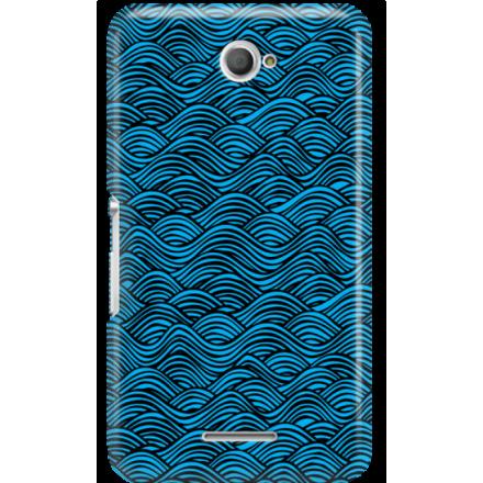 Etui na telefon Sony Xperia E4 Falujące Morze