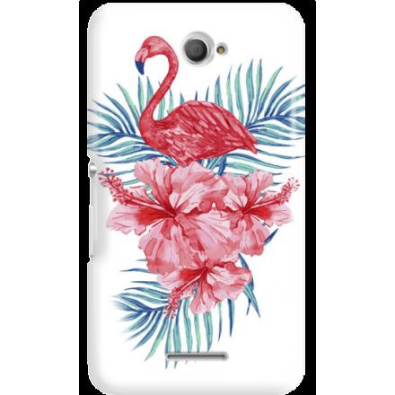 Etui na telefon Sony Xperia E4 Król Flaming