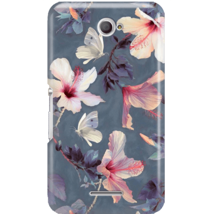 Etui na telefon Sony Xperia E4 Kwiatowy Ogród