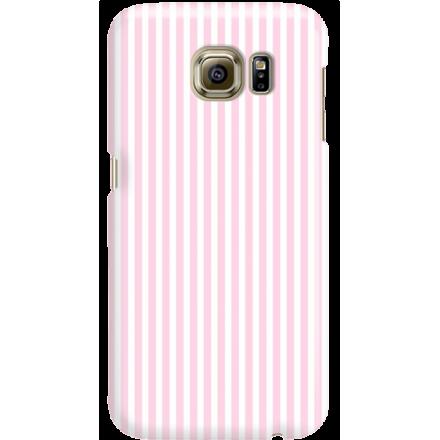 Etui na telefon Samsung Galaxy S6 Candy Różowe Paski