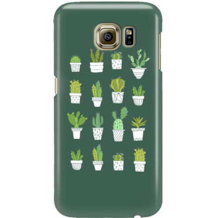 Etui na telefon Samsung Galaxy S6 Kaktusy