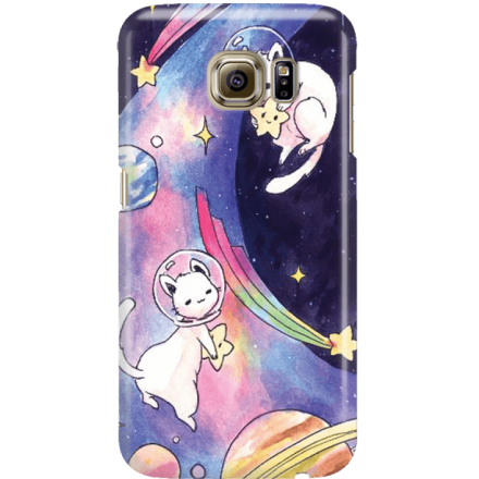Etui na telefon Samsung Galaxy S6 Kosmiczne Koty