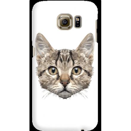 Etui na telefon Samsung Galaxy S6 Kot Geometryczny