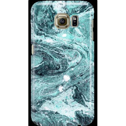 Etui na telefon Samsung Galaxy S6 Lazurowe Fale
