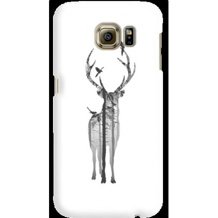 Etui na telefon Samsung Galaxy S6 Leśny Jeleń