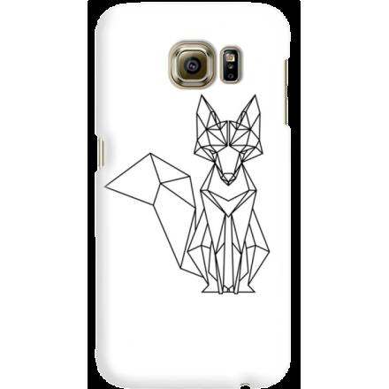 Etui na telefon Samsung Galaxy S6 Lis Geometryczny