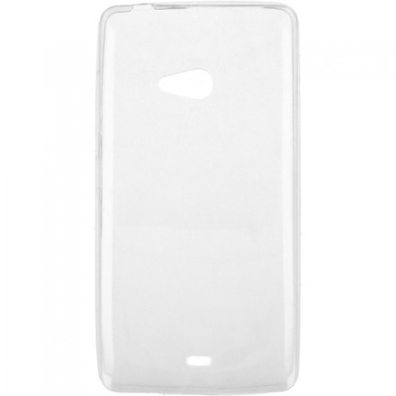 ETUI CLEAR 0.3mm MICROSOFT LUMIA 540 TRANSPARENTNY