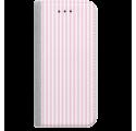 ETUI BOOK MAGNET NA TELEFON SAMSUNG GALAXY A5 2016 STALOWY CANDY RÓŻOWY PASKI
