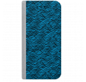 ETUI BOOK MAGNET NA TELEFON SAMSUNG GALAXY A5 2016 STALOWY FALUJĄCE MORZE