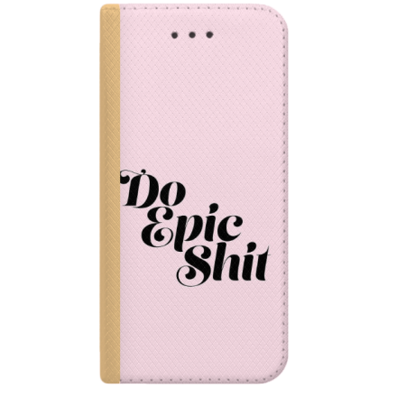 ETUI BOOK MAGNET NA TELEFON ALCATEL PIXI 4 4.0 ZŁOTY DO EPIC SHIT
