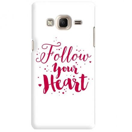 Etui na telefon SAMSUNG Z3 FOLLOW YOUR HEART