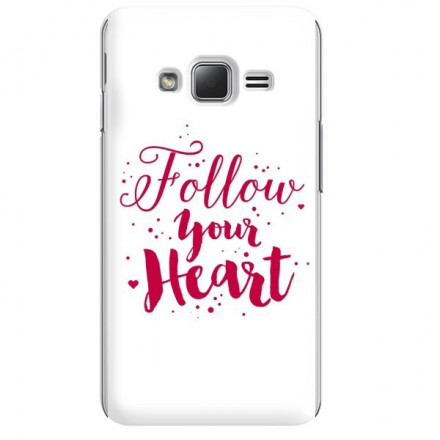 Etui na telefon SAMSUNG Z1 FOLLOW YOUR HEART