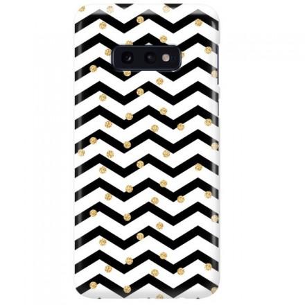 Etui na telefon SAMSUNG GALAXY S10E GOLD BLACK WHITE