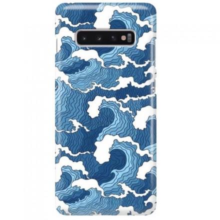 Etui na telefon SAMSUNG GALAXY S10 PLUS FALE WAVES