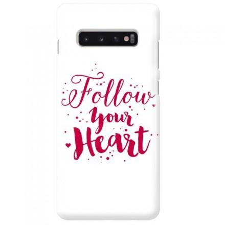 Etui na telefon SAMSUNG GALAXY S10 PLUS FOLLOW YOUR HEART