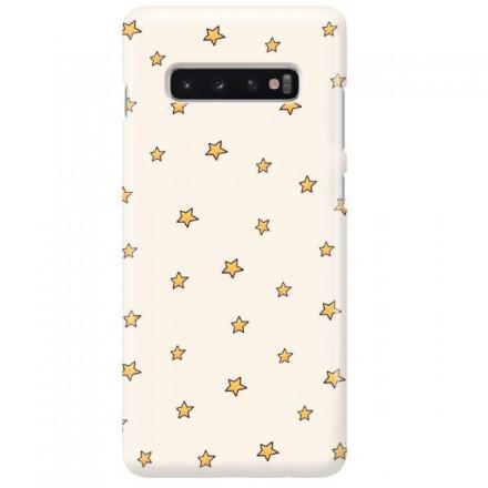 Etui na telefon SAMSUNG GALAXY S10 PLUS GWIAZDKI STARS