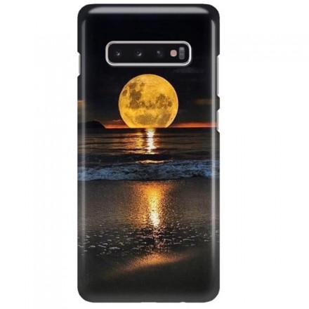 Etui na telefon SAMSUNG GALAXY S10 PLUS KSIĘŻYC NOC