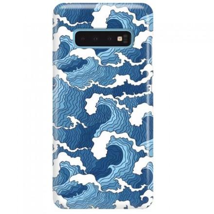 Etui na telefon SAMSUNG GALAXY S10 FALE WAVES