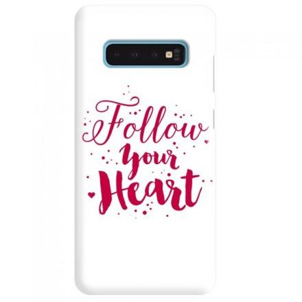Etui na telefon SAMSUNG GALAXY S10 FOLLOW YOUR HEART