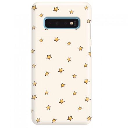 Etui na telefon SAMSUNG GALAXY S10 GWIAZDKI STARS