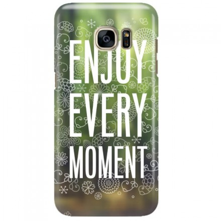 Etui na telefon SAMSUNG GALAXY S7 EDGE ENJOY EVERY MOMENT