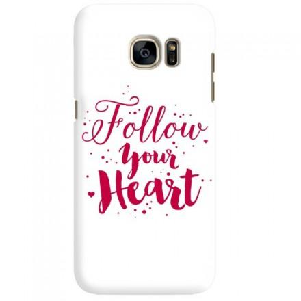 Etui na telefon SAMSUNG GALAXY S7 EDGE FOLLOW YOUR HEART