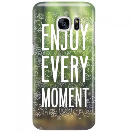 Etui na telefon SAMSUNG GALAXY S7 ENJOY EVERY MOMENT