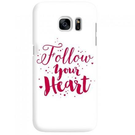 Etui na telefon SAMSUNG GALAXY S7 FOLLOW YOUR HEART