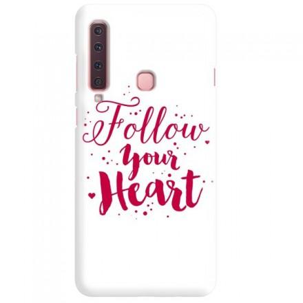Etui na telefon SAMSUNG GALAXY A9 2018 FOLLOW YOUR HEART