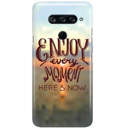 Etui na telefon LG V40 ENJOY EVERY MOMENT 2