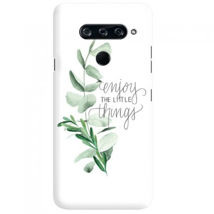Etui na telefon LG V40 ENJOY THE THINGS