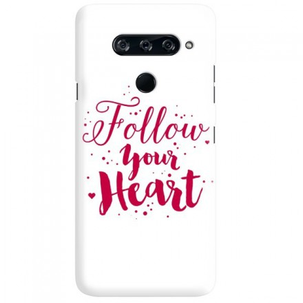Etui na telefon LG V40 FOLLOW YOUR HEART
