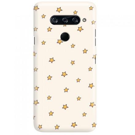 Etui na telefon LG V40 GWIAZDKI STARS