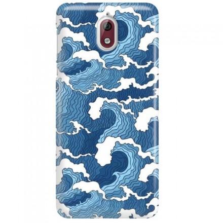 Etui na telefon NOKIA 3.1 FALE WAVES