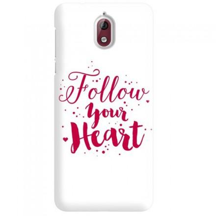 Etui na telefon NOKIA 3.1 FOLLOW YOUR HEART