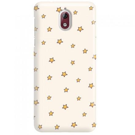 Etui na telefon NOKIA 3.1 GWIAZDKI STARS