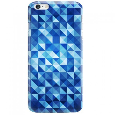 Etui na telefon APPLE IPHONE 6 PLUS / 6S PLUS BLUE GEOMETRIC