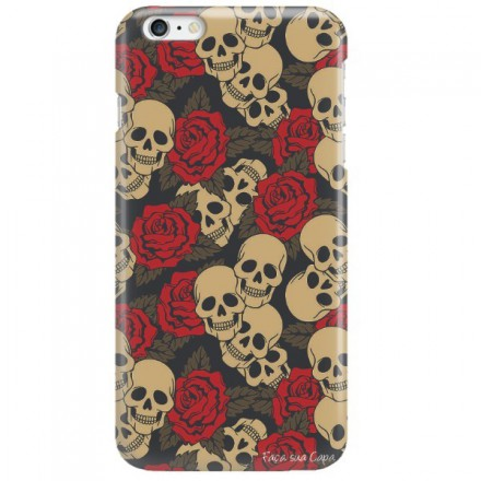 Etui na telefon APPLE IPHONE 6 PLUS / 6S PLUS CZASZKA SKULL