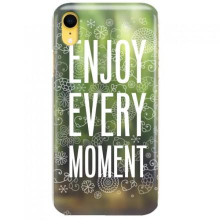 Etui na telefon APPLE IPHONE XR ENJOY EVERY MOMENT