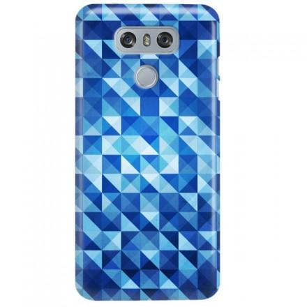 Etui na telefon LG G6 BLUE GEOMETRIC