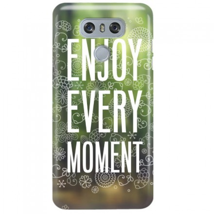 Etui na telefon LG G6 ENJOY EVERY MOMENT