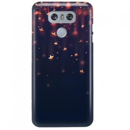Etui na telefon LG G6 GWIAZDKI BŁĘKITNE