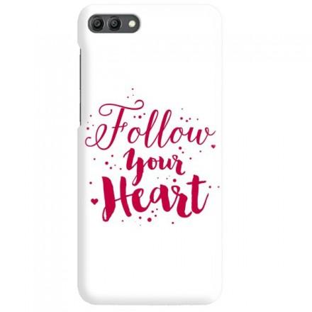 Etui na telefon HUAWEI Y9 2018 FOLLOW YOUR HEART