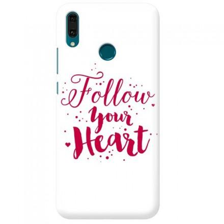 Etui na telefon HUAWEI Y9 2019 FOLLOW YOUR HEART