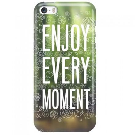 Etui na telefon APPLE IPHONE 5 / 5S / SE ENJOY EVERY MOMENT