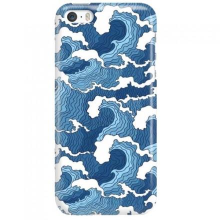 Etui na telefon APPLE IPHONE 5 / 5S / SE FALE WAVES