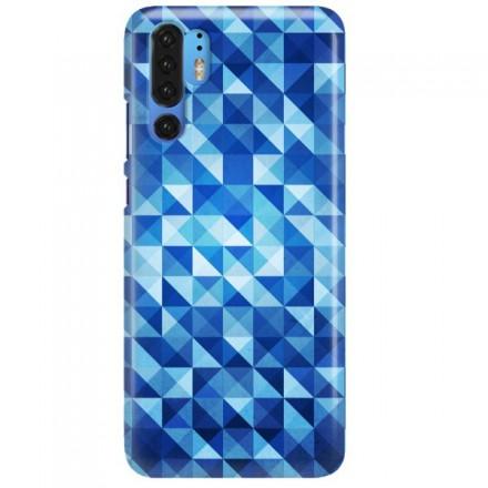 Etui na telefon HUAWEI P30 PRO BLUE GEOMETRIC