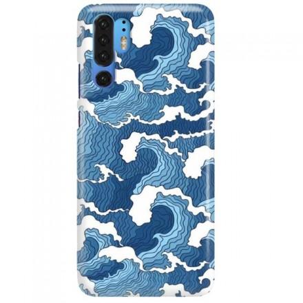 Etui na telefon HUAWEI P30 PRO FALE WAVES