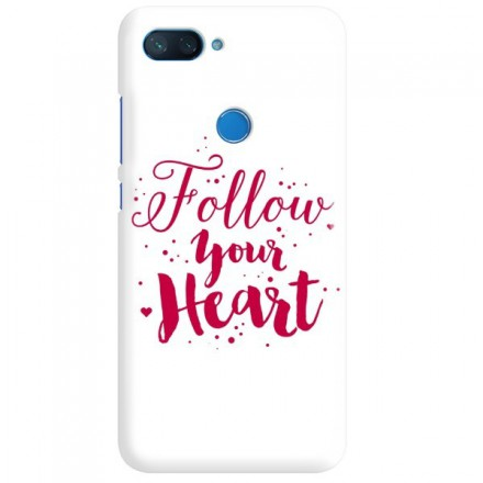 Etui na telefon XIAOMI MI8 LITE FOLLOW YOUR HEART